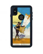 Batgirl- Fly Gotham City Airlines iPhone X Waterproof Case