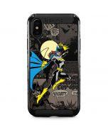 Batgirl Mixed Media iPhone XS Max Cargo Case
