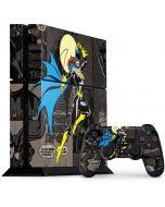 Batgirl Mixed Media PS4 Console and Controller Bundle Skin