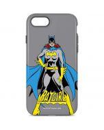 Batgirl Portrait iPhone 8 Pro Case