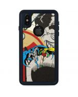 Batman and Robin Vintage iPhone X Waterproof Case