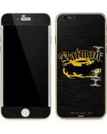 Batman Bat Logo Yellow & Black iPhone 6/6s Skin
