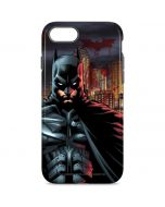 Batman in Gotham City iPhone 8 Pro Case