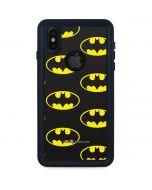 Batman Logo All Over Print iPhone X Waterproof Case
