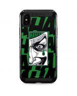 Batman Teardrop - The Joker iPhone XS Max Cargo Case