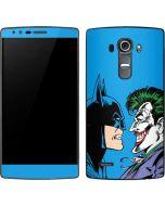 Batman vs Joker - Blue Background G4 Skin