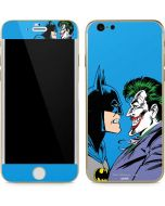 Batman vs Joker - Blue Background iPhone 6/6s Skin