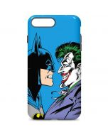 Batman vs Joker - Blue Background iPhone 7 Plus Pro Case