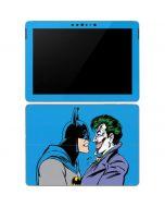 Batman vs Joker - Blue Background Surface Go Skin