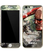 Battle With Titan iPhone 6/6s Skin