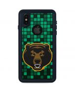 Baylor Bears Checkered iPhone XS Waterproof Case