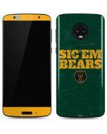 Baylor Bears Sic Em Moto G6 Skin