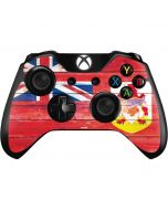 Bermuda Flag Light Wood Xbox One Controller Skin
