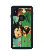 Betty Boop at Sea iPhone XS Waterproof Case