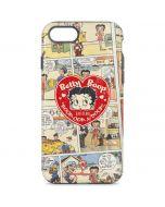 Betty Boop Comic Strip iPhone 8 Pro Case