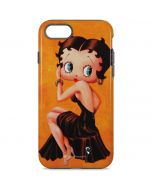 Betty Boop Little Black Dress iPhone 8 Pro Case