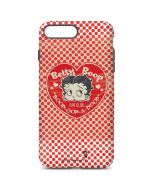 Betty Boop Red Heart iPhone 7 Plus Pro Case
