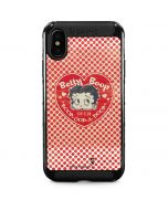 Betty Boop Red Heart iPhone XS Max Cargo Case
