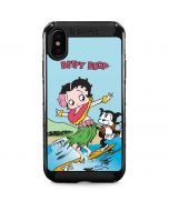 Betty Boop Surfing iPhone XS Max Cargo Case