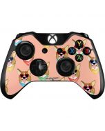 Corgi Love Xbox One Controller Skin