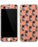 Gray Scale Pineapple iPhone 6/6s Skin