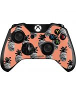 Gray Scale Pineapple Xbox One Controller Skin