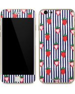 Strawberries and Stripes iPhone 6/6s Skin