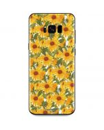Sunflowers Galaxy S8 Skin