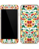 Geometric Flowers iPhone 6/6s Skin