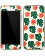 Tropical Leaves and Citrus iPhone 6/6s Skin