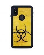 Biohazard Large iPhone XS Waterproof Case