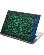 Black & Green Yoga 910 2-in-1 14in Touch-Screen Skin