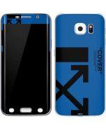 Black and Blue Arrows Galaxy S6 Edge Skin