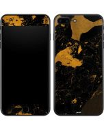 Black and Gold Scattered Marble iPhone 7 Plus Skin