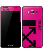 Black and Pink Arrows Galaxy Grand Prime Skin