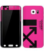 Black and Pink Arrows Galaxy S6 Edge Skin