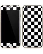Black and White Checkered iPhone 6/6s Skin
