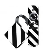 Black and White Geometric Stripes Amazon Fire TV Skin