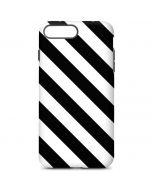 Black and White Geometric Stripes iPhone 7 Plus Pro Case