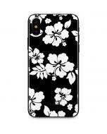 Black and White iPhone X Skin