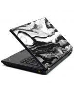 Black and White Marble Ink Lenovo T420 Skin