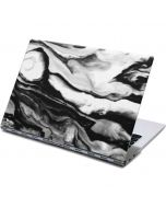 Black and White Marble Ink Yoga 910 2-in-1 14in Touch-Screen Skin