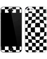 Black and White Zoomed Checkerboard iPhone 5c Skin