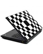 Black and White Zoomed Checkerboard Lenovo T420 Skin
