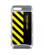 Black and Yellow Stripes iPhone 8 Plus Cargo Case