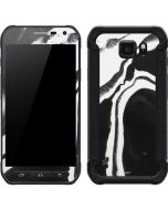 Black Marble Ink Galaxy S6 Active Skin