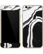 Black Marble Ink iPhone 6/6s Skin