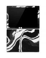 Black Marble Ink Surface Pro 4 Skin