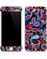 Black Paisley iPhone 6/6s Plus Skin