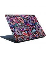 Black Paisley Surface Laptop Skin